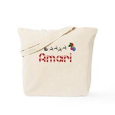 Amari, Christmas Tote Bag