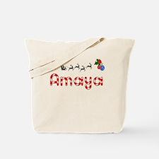 Amaya, Christmas Tote Bag