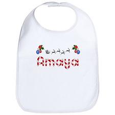 Amaya, Christmas Bib