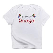 Anaya, Christmas Infant T-Shirt