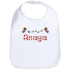 Anaya, Christmas Bib