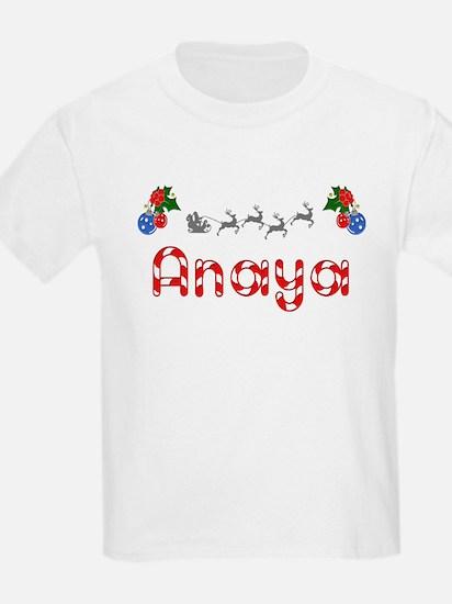 Anaya, Christmas T-Shirt