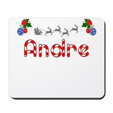 Andre, Christmas Mousepad