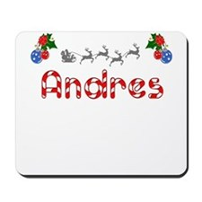 Andres, Christmas Mousepad