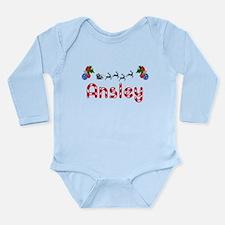 Ansley, Christmas Onesie Romper Suit