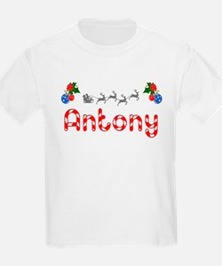 Antony, Christmas T-Shirt