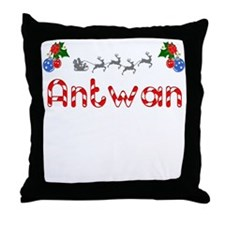 Antwan, Christmas Throw Pillow