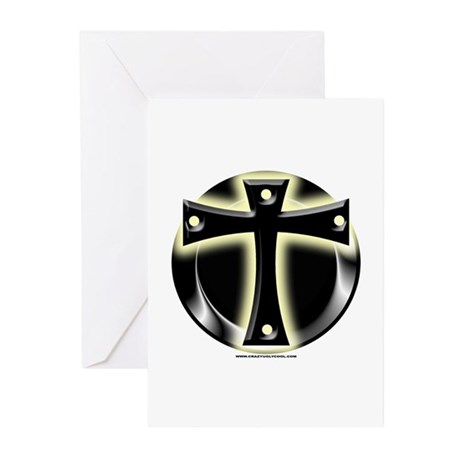 Glowing Cross Greeting Cards (Pk of 10)