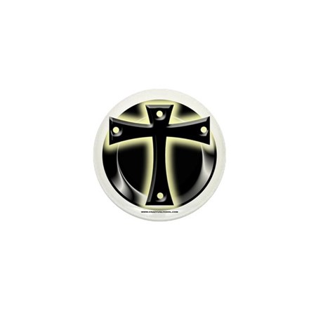 Glowing Cross Mini Button (100 pack)
