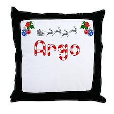 Argo, Christmas Throw Pillow