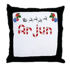 Arjun, Christmas Throw Pillow