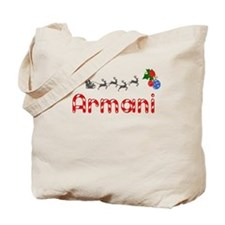 Armani, Christmas Tote Bag