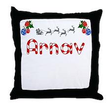 Arnav, Christmas Throw Pillow