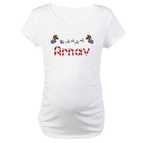 Arnav, Christmas Maternity T-Shirt