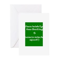 Irisheyescafe.jpg Greeting Card