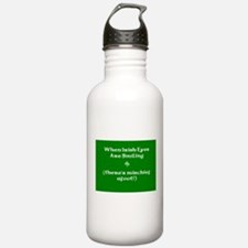 Irisheyescafe.jpg Water Bottle