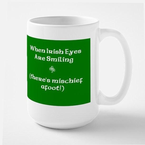 Irisheyescafe.jpg Large Mug