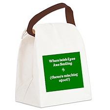 Irisheyescafe.jpg Canvas Lunch Bag