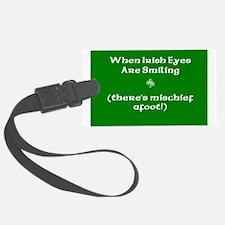 Irisheyescafe.jpg Luggage Tag