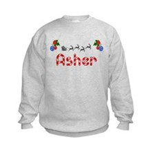 Asher, Christmas Sweatshirt
