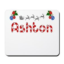 Ashton, Christmas Mousepad