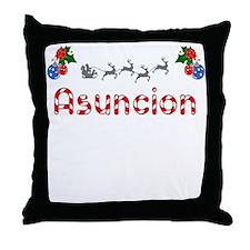 Asuncion, Christmas Throw Pillow