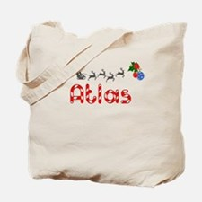 Atlas, Christmas Tote Bag