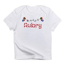 Aubry, Christmas Infant T-Shirt