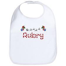 Aubry, Christmas Bib