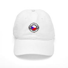 Czech Republic Hockey Baseball Cap