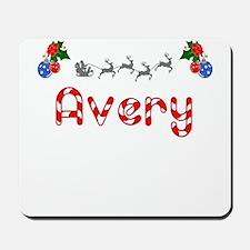 Avery, Christmas Mousepad
