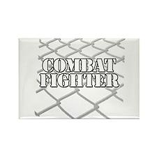 ORIGINAL COMBAT FIGHTER DESIGN Rectangle Magnet