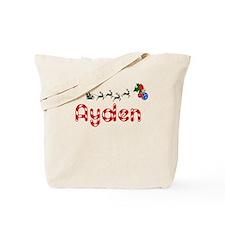 Ayden, Christmas Tote Bag