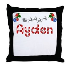 Ayden, Christmas Throw Pillow