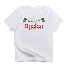 Ayden, Christmas Infant T-Shirt