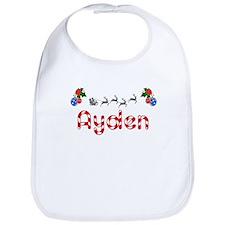 Ayden, Christmas Bib