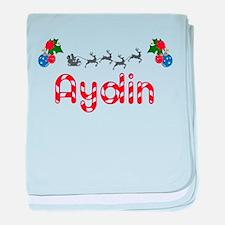 Aydin, Christmas baby blanket