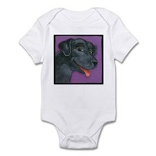 Black Lab Infant Bodysuit