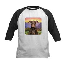 Doberman Meadow Tee