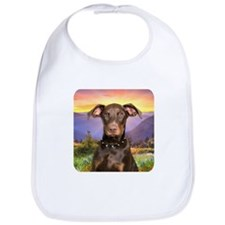 Doberman Meadow Bib