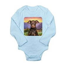 Doberman Meadow Onesie Romper Suit
