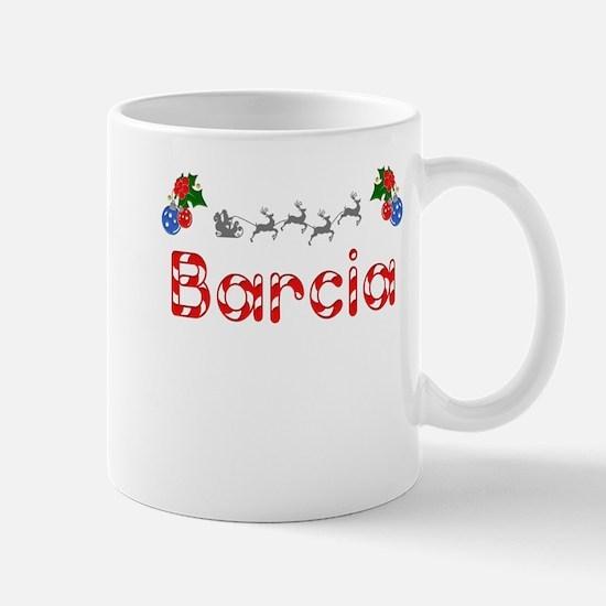 Barcia, Christmas Mug