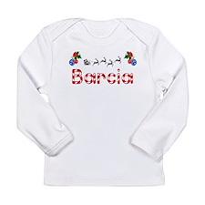 Barcia, Christmas Long Sleeve Infant T-Shirt
