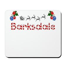 Barksdale, Christmas Mousepad
