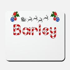 Barley, Christmas Mousepad