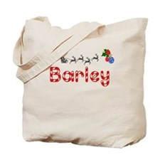 Barley, Christmas Tote Bag