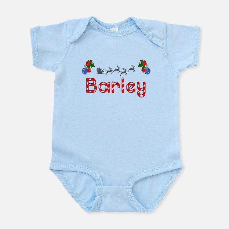Barley, Christmas Infant Bodysuit