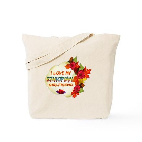 Ethiopian Girlfriend Valentine design Tote Bag