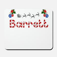Barrett, Christmas Mousepad