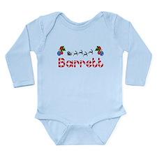 Barrett, Christmas Long Sleeve Infant Bodysuit